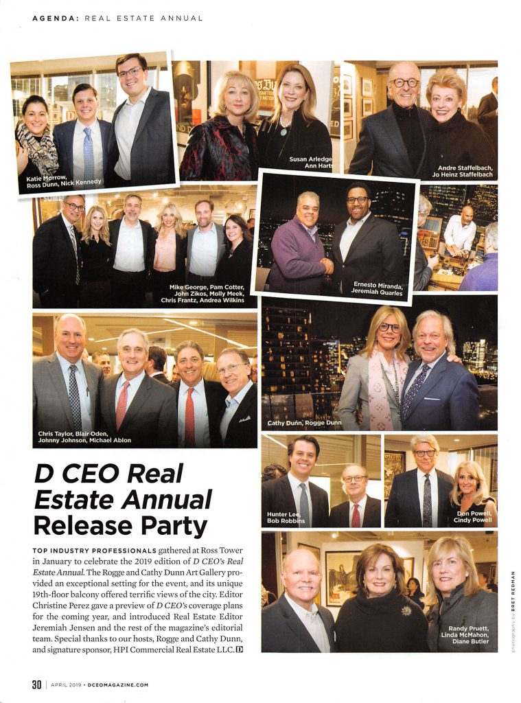 D CEO Annual Real Estate Release Party