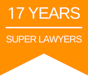 Rogge Dunn Super Lawyers 17 Years Badge