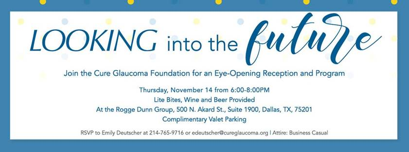 Fundraiser Cure Glaucoma Foundation